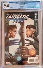 Ultimate Fantastic Four 21 CGC 9.4  Variant Edition 9/05 Marvel Comics