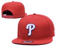 Philadelphia Phillies MLB Baseball Embroidered Hat Snapback Adjustable Cap