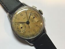 JAEGER Chronograph Mens Watch - Cal. 285 - 17 Jewels - NEEDS TO BE SERVICED