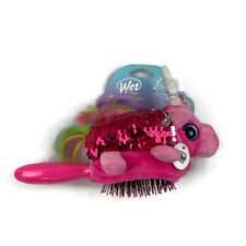 Wet Brush Plush Detangler Hair Brush for Kids Soft Bristles Unicorn