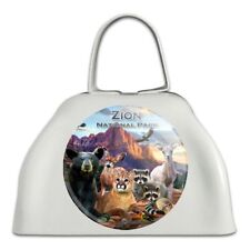 Zion National Park Utah Ut Animals Cowbell Cow Bell Instrument