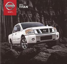 2013 13  Nissan Titan original sales brochure