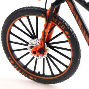 1:10 Alloy Bicycle Model Toy Cross Mountain Bike Racing Cycle Bike Kids  Toy ZX