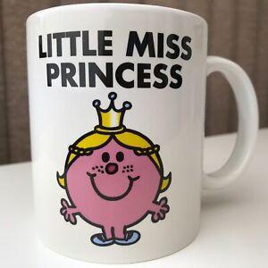 Little Miss Princess Mug Mr Men 2017 Tea Coffee Ex. Condition