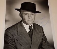 WILLIAM BENEDICT / BOWERY BOYS /  8 X 10  B&W  AUTOGRAPHED  PHOTO