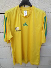 Maillot football AFRIQUE du SUD SOUTH AFRICA shirt ADIDAS jersey maglia M jaune