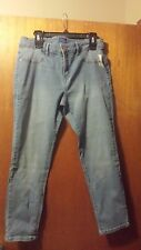 NWT Womens size 12 Skinny jeans, ankle length, medium denim