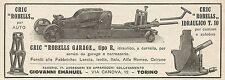 Z0860 Cric ROBELLS idraulico - Pubblicità del 1929 - Advertising