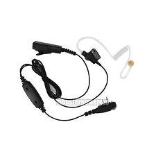 2-wire FBI Earpiece Headset PTT Mic for Icom IC-F4001 IC-F4011 IC-F4013 IC-F4021