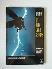 Batman The Dark Knight Returns TPB 1986 Titan First Print