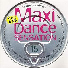 Maxi Dance Sensation 15 (1994) Snap, Pech, Fun Factory, Loft, La Bouche.. [2 CD]