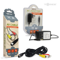 *NEW* Sega Genesis Model 2 Console System AV + AC Cable Power Cord RCA Bundle