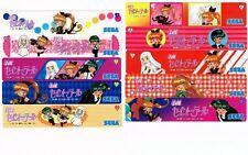 New SEGA Kaito Saint-Tail Ruler Scale 15cm Full Set of 10 Plastic Rare Moe Japan