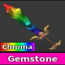 Roblox Murder Mystery 2 MM2 Godly Chroma Gemstone(READ DESCRIPTION!)