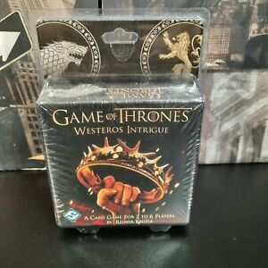 Game Of Thrones Westeros Intrigue Card Game - New & Sealed