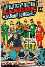 Justice League #8 - Auction Of The League! - 1962 (Grade 6.0)