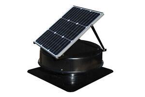 Solarking Roof Solar Powered Exhaust Fan 320mm Whirlybird