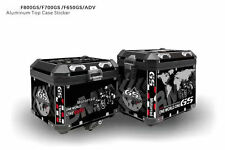 F650GS F700GS F800GS ADV decorative stickers for aluminum box black