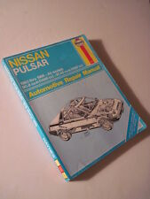 Nissan Pulsar Haynes Automotive Repair Guide! 1983-1986.