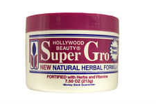HOLLYWOOD BEAUTY SUPER GRO NATURAL HERBAL FORMULA 7.5 OZ.