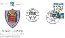 1994 - FDC 1°JOUR - COMITE INTERNATIONAL OLYMPIQUE - CIO - MONACO