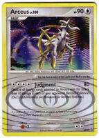 POKEMON • Arceus Lv.100 RARE HOLO CARD • BLACK STAR PROMO 50 DP50 NM
