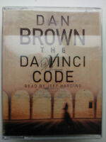 DAN BROWN.THE DA VINCI CODE.JEFF HARDING.4 X TAPE ABRIDGED 6 HR 30 MIN,NEW