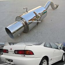 Fit 94-01 Integra DC2 2DR Bolt On Axle Back Exhaust Muffler