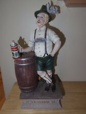 Duncan Royale Calendar Secrets October Figurine German Man Barrel Statue 14 1/2""