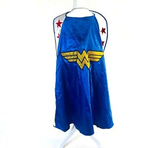 Halloween Adult Teen Wonder Woman Cape Six Flags Costume