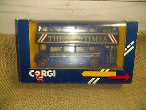 Corgi The Times Double Decker Bus Brand New Old Stock
