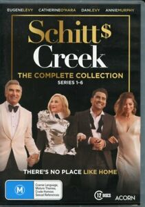 Schitt's Creek - Complete Collection (DVD, 12-Disc Set) R4 Series 1-6
