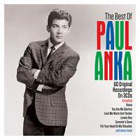 PAUL ANKA - THE BEST OF - 3 CDS - NEW!!