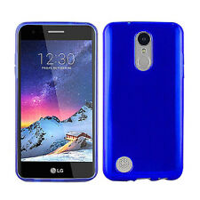 For LG Tribute Dynasty Frosted TPU CANDY Gel Flexi Skin Case Cover Accessory