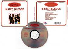 "SISTER SLEDGE ""Live In Concert"" (CD)"