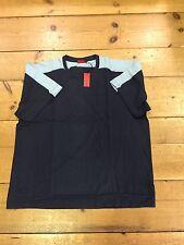Pierre Cardin Contrast Crew Neck T-shirt/blue/ Size 3XL