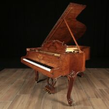 1913 Louis XV Steinway Model O Grand Piano inCircassian Walnut