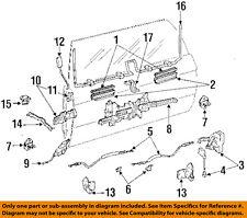 TOYOTA OEM 90-95 4Runner Tailgate-Window Lift Regulator 6980189122