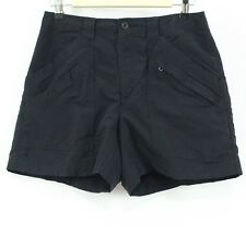 Royal Robbins Black Quick Dry Nylon Gusset Crotch Hiking Shorts Women's Size 6