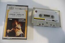 THE BEST OF JANIS JOPLIN QUEEN OF BLUES RARE K7 AUDIO TAPE PERINA INDONESIA.