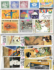 CHARITY STAMP PACKET EXPO 20 USED STAMPS 0325