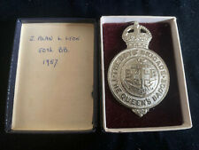 More details for the boys' brigade  vintage badge ~ the queen's badge stedfast original box 1957