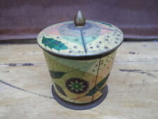 Vintage Biscuit Tin Baret Ware Container Art Grace Container