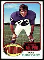 1976 Topps #30 Ron Yary HOF NRMT Minnesota Vikings / USC Trojans