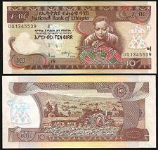 ETHIOPIA 10 Birr 2006 UNC P 48 d