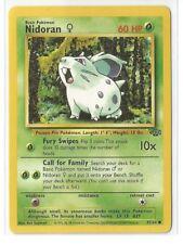 Pokemon Unlimited Edition Jungle set Nidoran (f) 57/64 common NM Condition