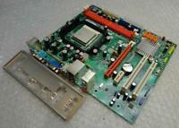 Genuine ECS Geforce6100PM-M2 Socket LGA AM2 Motherboard With Backplate