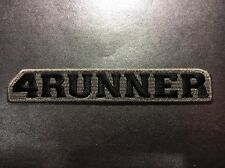 "Toyota 4Runner SR5 Off-Road 4 X 4 HighQuality Embroidered Patch 5.75"" X 1"" Gray"