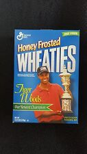 Wheaties cereal box(TIGER WOODS)EMPTY BOX NEAR MINT COND.