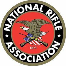 "(2) NRA National Rifle Association Gun 2nd Amendment Vinyl Sticker Decal 3""x3"""